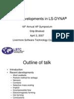 LSTC_DilipBhalsod_Symposium07