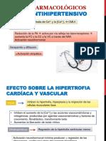 Efectos farmacológico de los Vasodilatadores