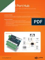 HBUS 8 Port Hub Datasheet