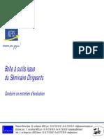 Management Directorial Conduire Un Entretien d'Évaluation