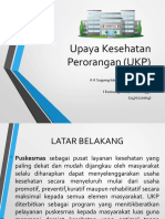 Upaya Kesehatan Perorangan (UKP)