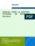 Manual Para La Gestion Integral de Residuos Solidos