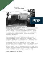 Caminhos Outros Na Arquitetura Paulista