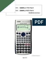 Manual Calculadora Casio Fx-570