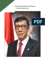 Menteri Hukum dan HAM.doc