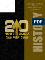USSOCOM History 1987-2007