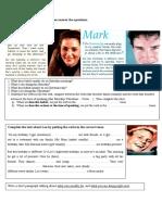 Reading Comprehension Grammar Simple Present vs Pr Clt Communicative Language Teaching