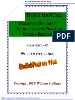 Computer Security Principles and Practice 2nd Edition Stallings Solutions Manual