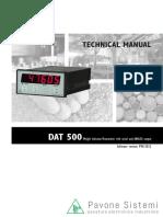 Balanza DAT500