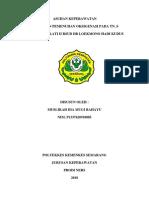 Askep Tn. s Dengan Gangguan Pemenuhan Oksigenasi