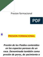 Presion formacional