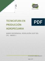 diseño técnico producción agropecuaria