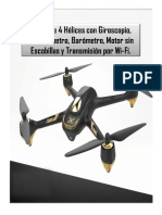 DRONE HUSBAN X4 H501A RC