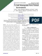 Development of a Self-Manageable News Virtual Environment