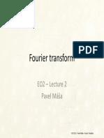2 Fourier Transform