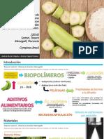 Desarrollo y caracterización de películas de almidón de plátano incorporadas con micropartículas lipídicas sólidas que contienen ácido ascórbico.