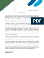 21.01.2019 - Décision Ministre Stocamine - CP SCHELLENBERGER