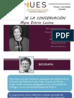 Teoria de La Conservacion de Myra Levine