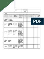 HAZID Worksheet