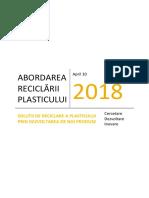 Abordarea reciclării plasticului