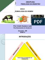Aula - Microbiologia Do Rúmen