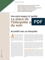Dossier Une Autre Langue 3 - Memoires n41 - Mars 2008
