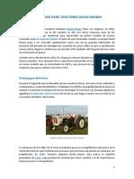 Recambios Para Tractores David Brown