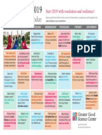 Calendar Ianuarie 2019