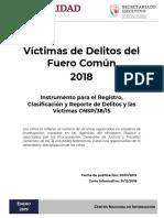 Informe Secretariado Ejecutivo del Sistema Nacional de Seguridad Pública