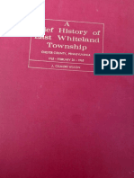 A Brief History of East Whiteland Township Chester County, Pennsylvania 1765-1965 by J. Gilmore Wilson (scanned)