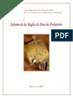 Reglas de Derecho Probatorio 2007