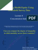 l 8 Concentration Index