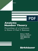 1990 Book AnalyticNumberTheory