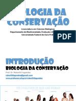 Biologia da Conservação - Introdução - UFOP