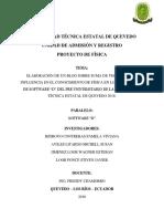 Proyecto de Fisica-softwareD