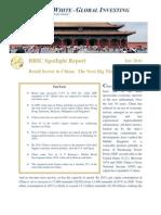 Bric Spotlight Report China Real Estate July 10