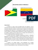 Fronteira entre Guiana e Venezuela