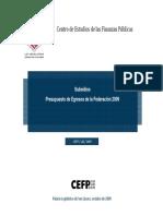 Subsidios de la Federación