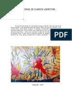 LISPECTOR, Clarice - Alguns Quadros da Autora + Os Bonecos de Barro [Crônica] + Sobre a Escrita