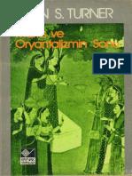 Bryan S. Turner - Marx Ve Oryantalizmin Sonu