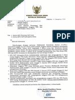 Surat Edaran Pelantikan PPK 201914122018