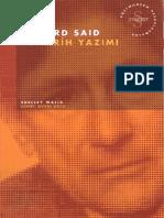 Shelley Walia - Edward Said Ve Tarih Yazımı #a.