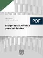 Débora Dalpai e Alethéa Gatto Barschak Bioquímica Médica Para Iniciantes