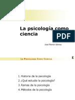 psicología como ciencia