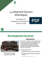 2018 Savannah Development Report
