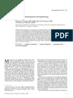 [10920684 - Neurosurgical Focus] Review of Meningioma Histopathology