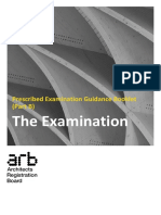 Prescribed Examination Guidance the Examination