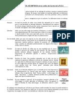 Pruebas y Ensayos de Sellos Postales del Uruguay