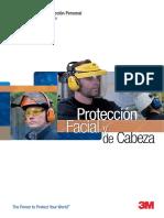 3M Catalogo Proteccion Facial Cabeza