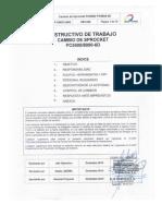 IP-CMDIC-0002 Cambio Sprocket PC5500 - PC8000 Rev00